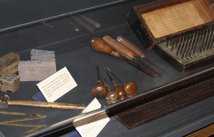 Conservació Museu d'Estampacio de Premià de Mar