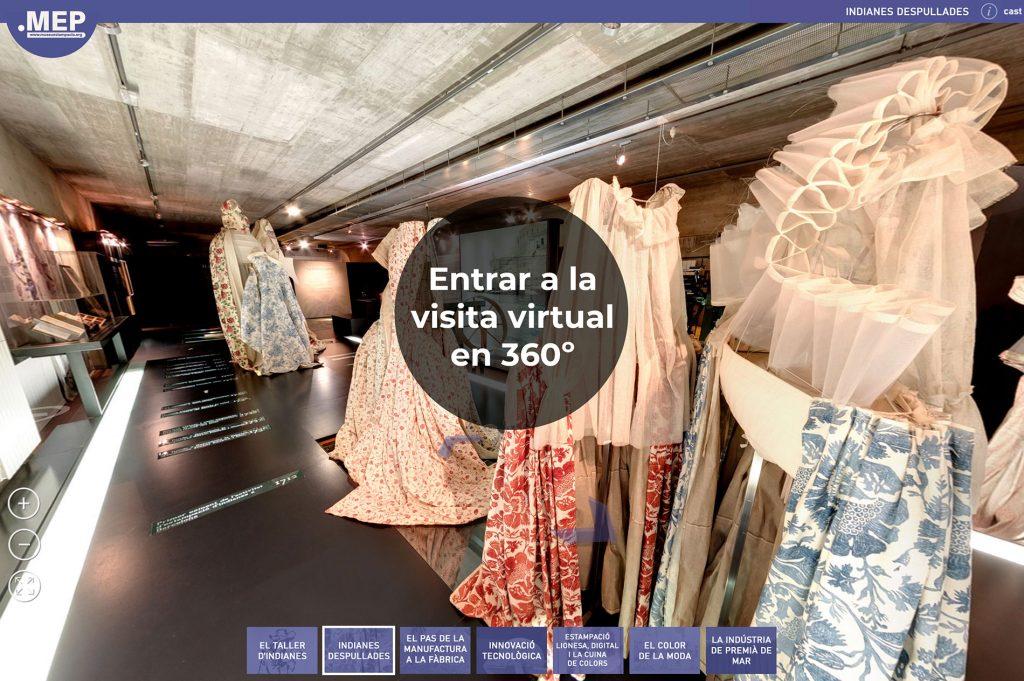 Visita Virtual Museu d'Estampació Premià de Mar